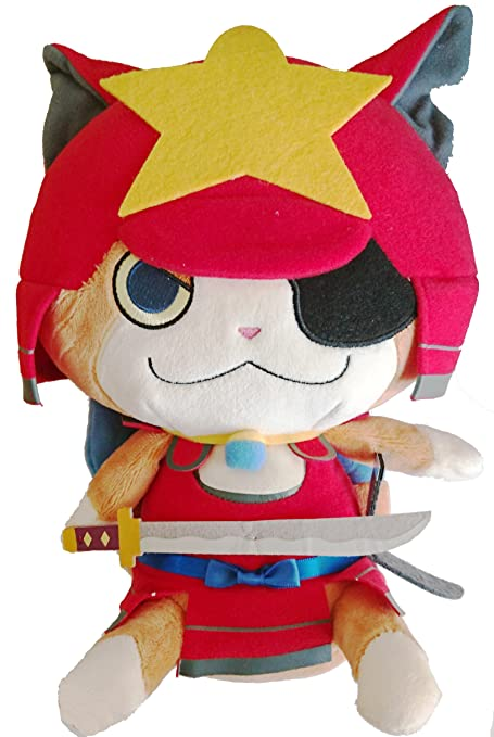Yokai Watch LAST BUSHI-NYAN Stuffed Toy Plush Doll Japan Yorozumart Limited