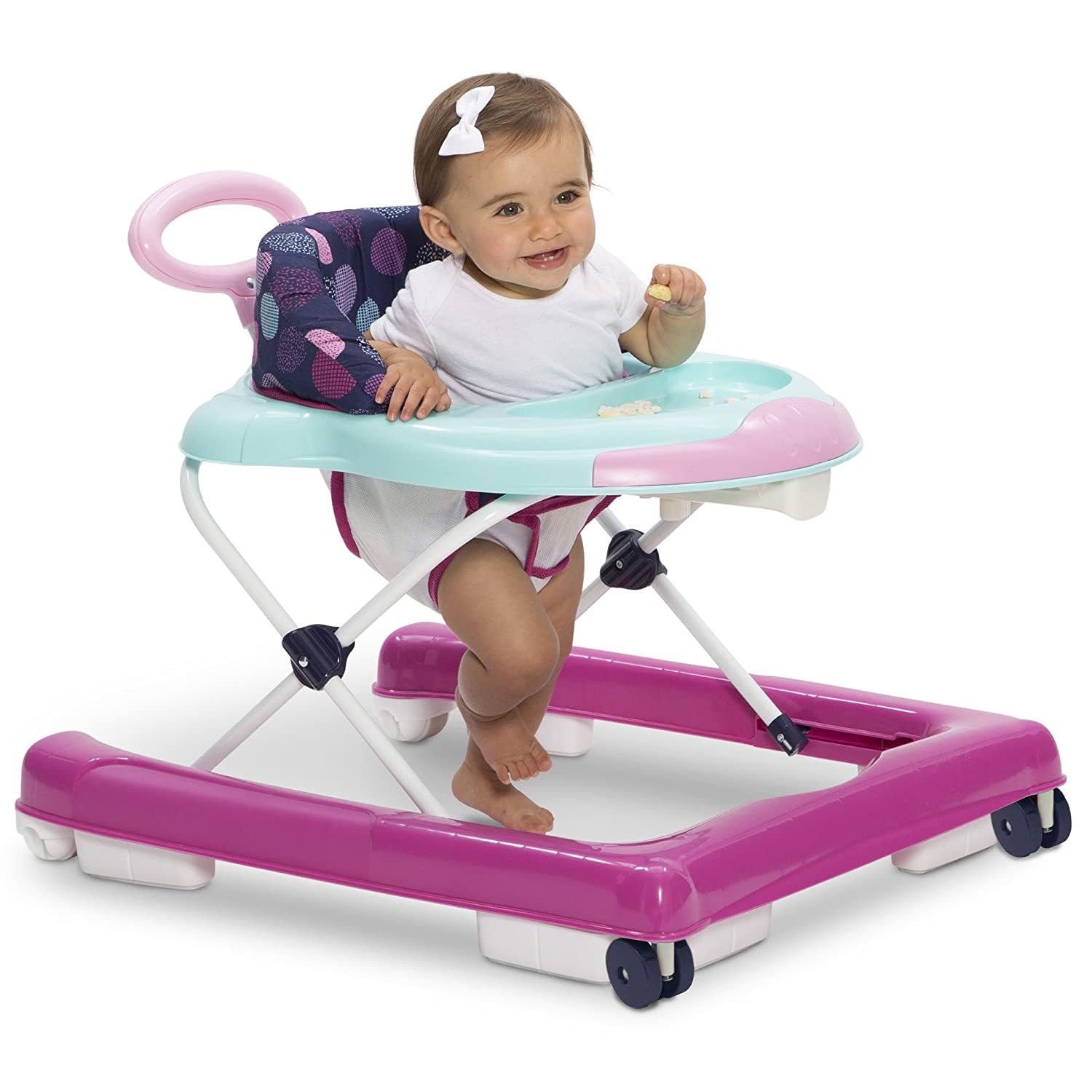 Girl Baby Infant Walker Kids Toddler Child Activity With Wheels