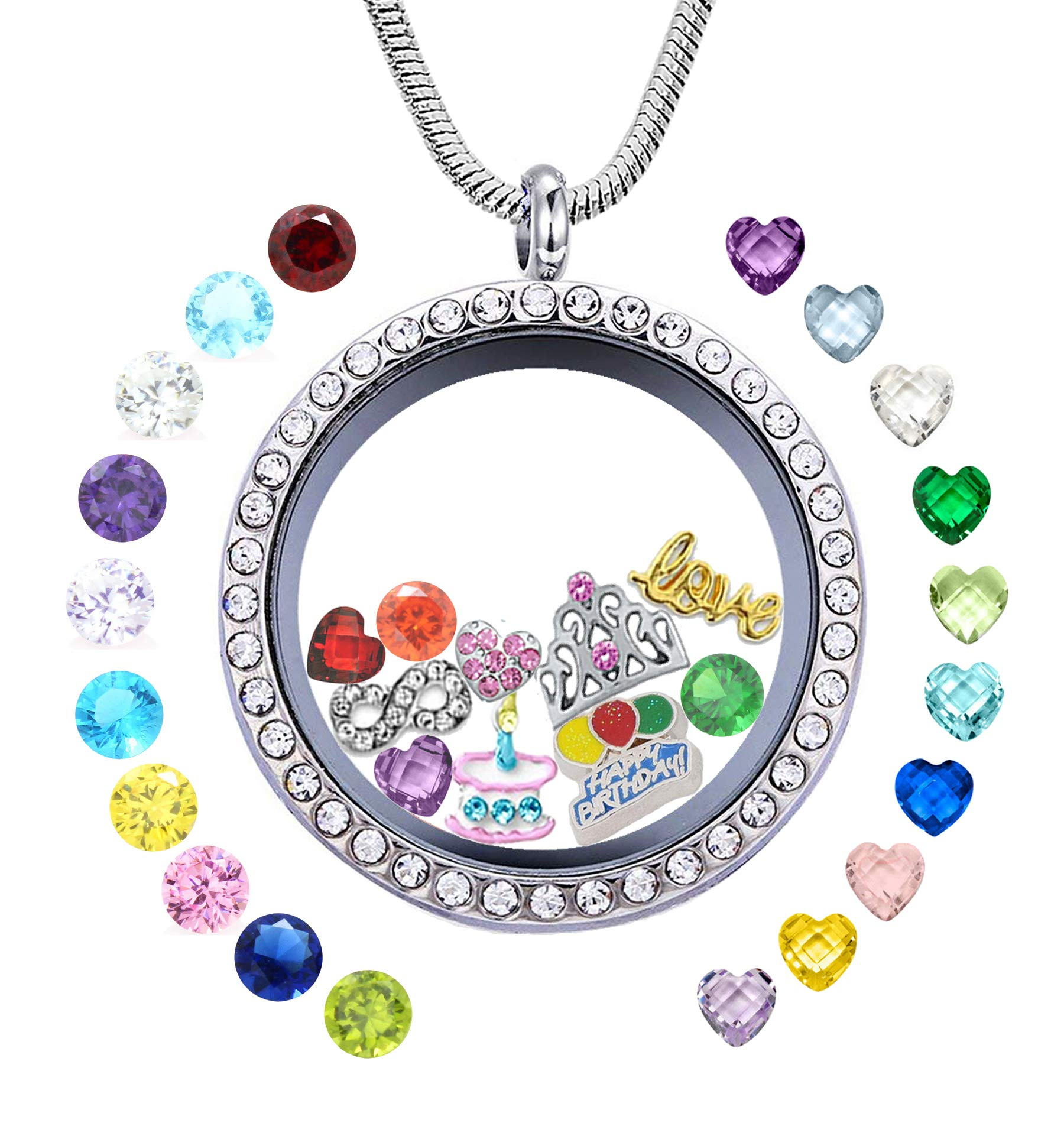 Over 260 Crystals For Repair Making Jewelry Or Origami Owl Type Multi Color Charms & Charm Bracelets Jewelry & Watches
