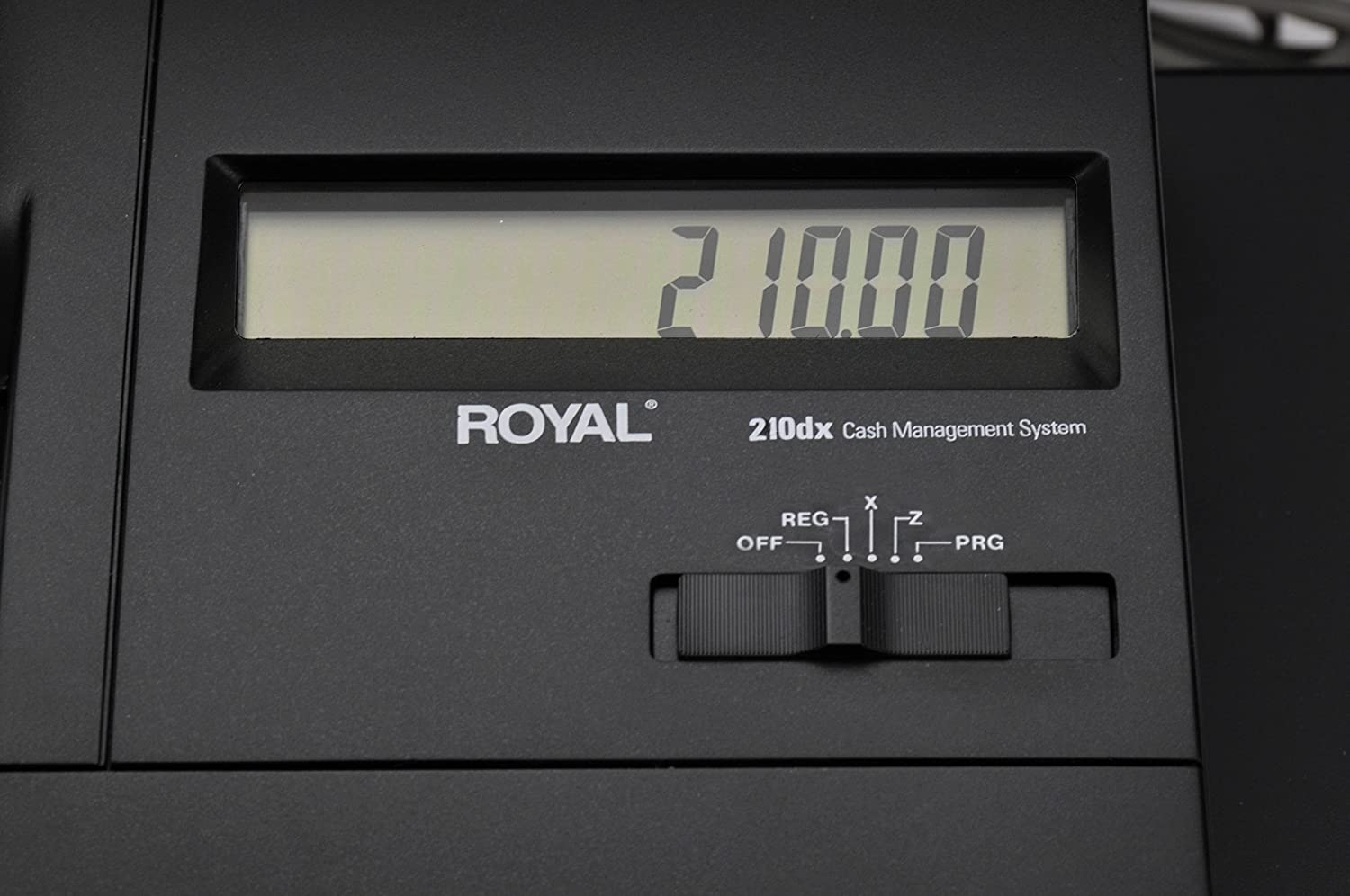 Amazon.com : Royal 210DX Entry Level Thermal Printer Cash Register :  Electronic Cash Registers : Office Products