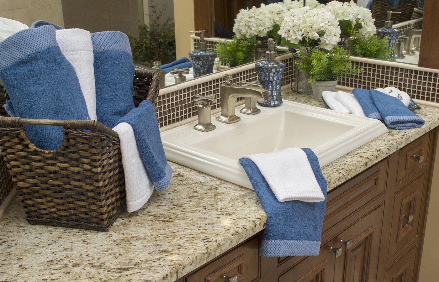 White BedVoyage Eco Resort Collection Bath Towel