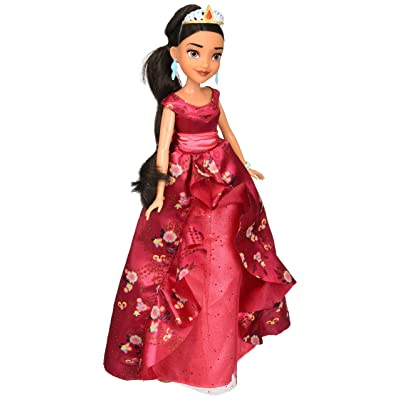 Disney Elena of Avalor Royal Gown Doll-Poseable Disney Princess Figurine Dressed for the Royal Ball: Toys & Games