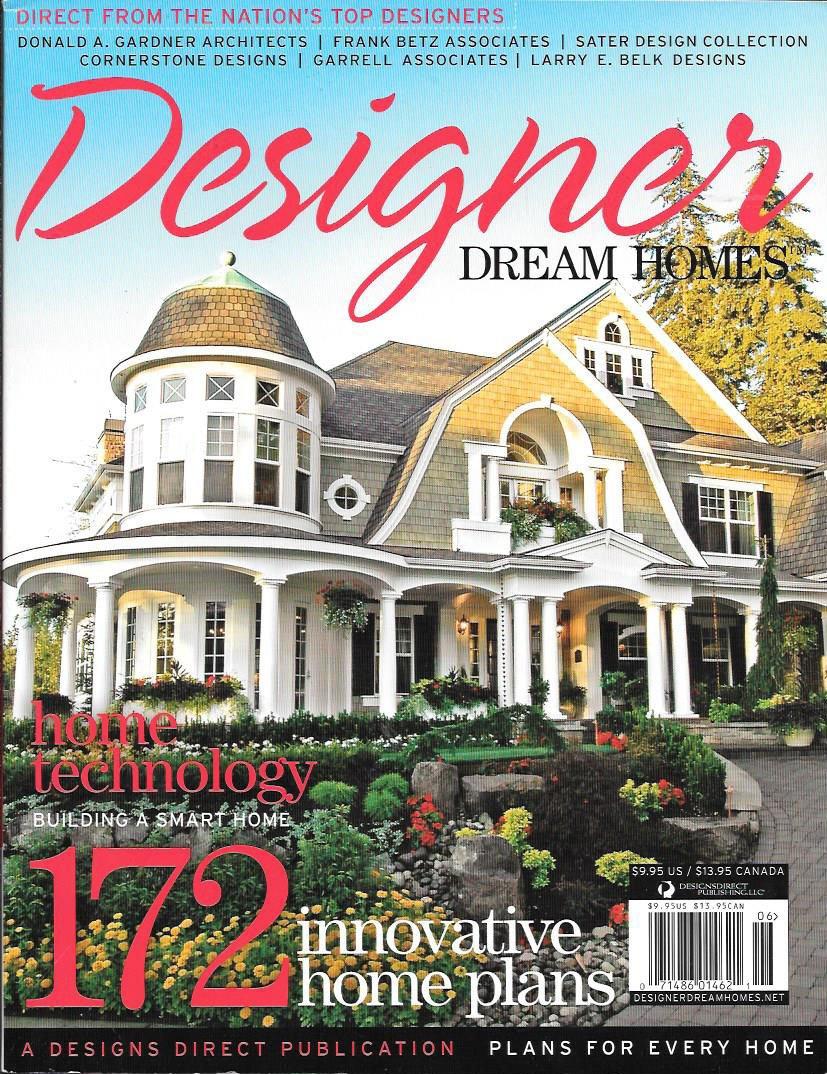Designer Dream Homes Magazine 172 Innovative Plans Issue Nineteen