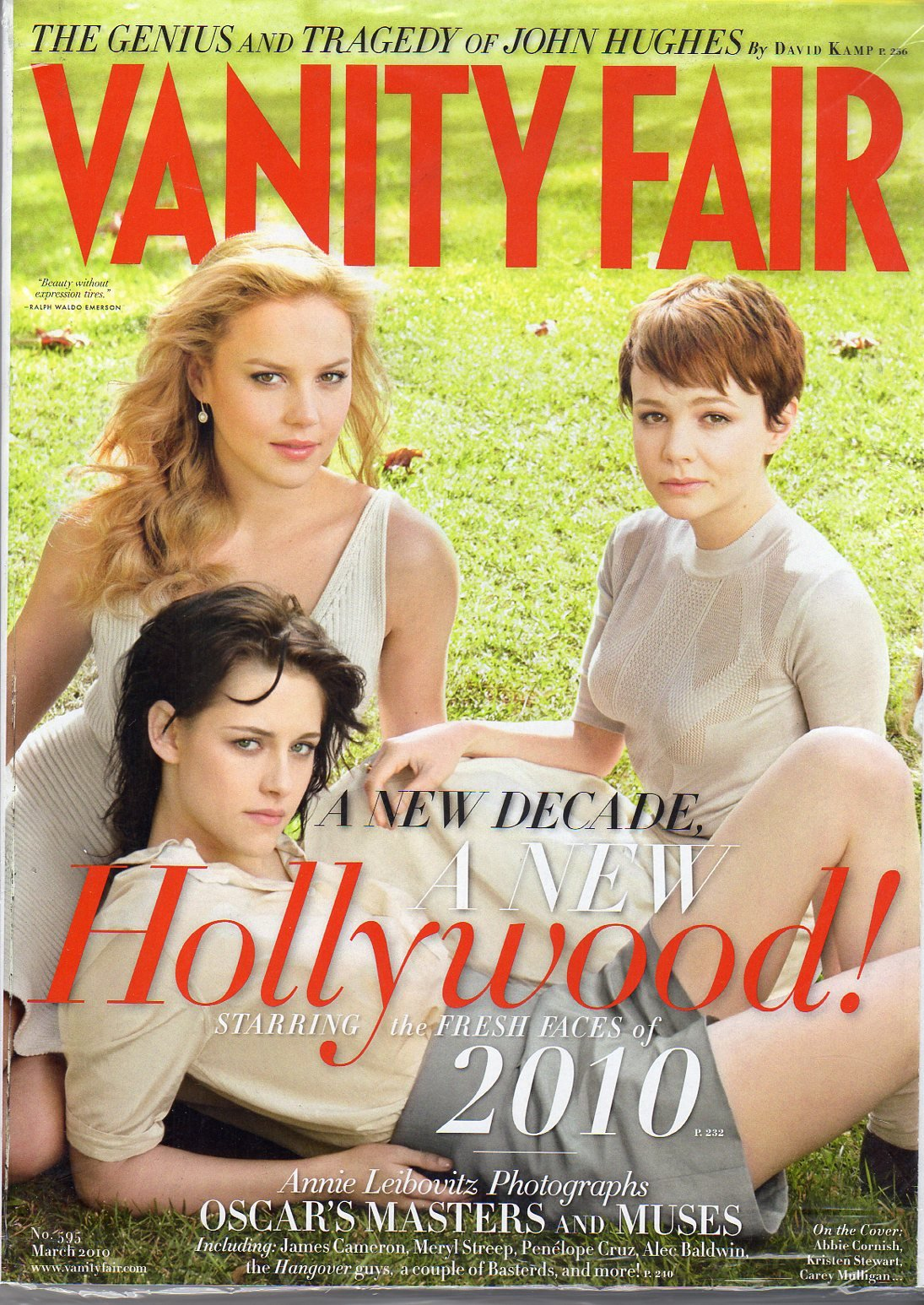Vanity Fair No 595 March 2010 (KRISTEN STEWART, ABBY CORNISH, CAREY MULLIGAN...) pdf