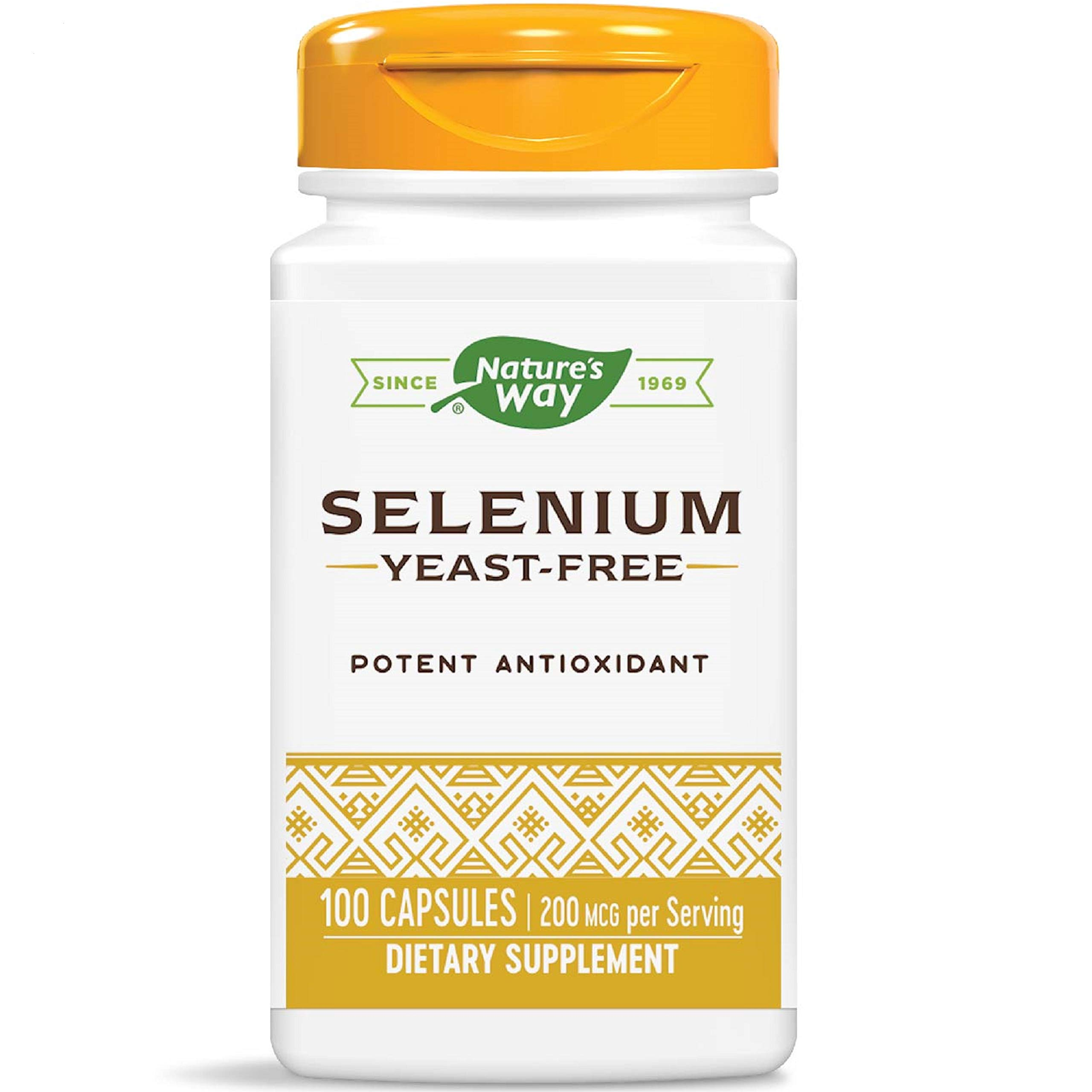 Nature's Way Selenium 200 mcg, 100 Capsules
