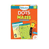 Skillmatics Educational Game: Dots and Mazes, 3-6 Years