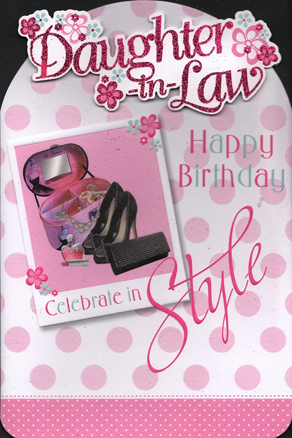 DaughterInLaw Birthday Card DaughterInLaw Happy Birthday – Happy Birthday Daughter in Law Cards