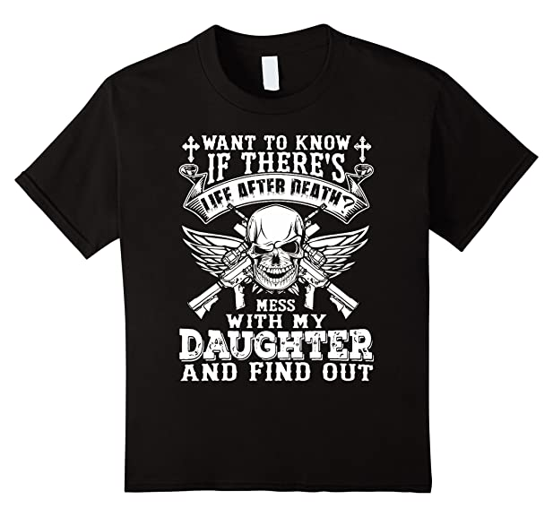 Dad Against Daughter Dating T Shirt