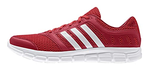 san francisco b4b72 928b8 Adidas Breeze 101 2 M, Scarpe da Corsa Uomo RojoBlanco  Rojo  (RojintFtwbla  Rojpot) 49 13 Amazon.it Scarpe e borse