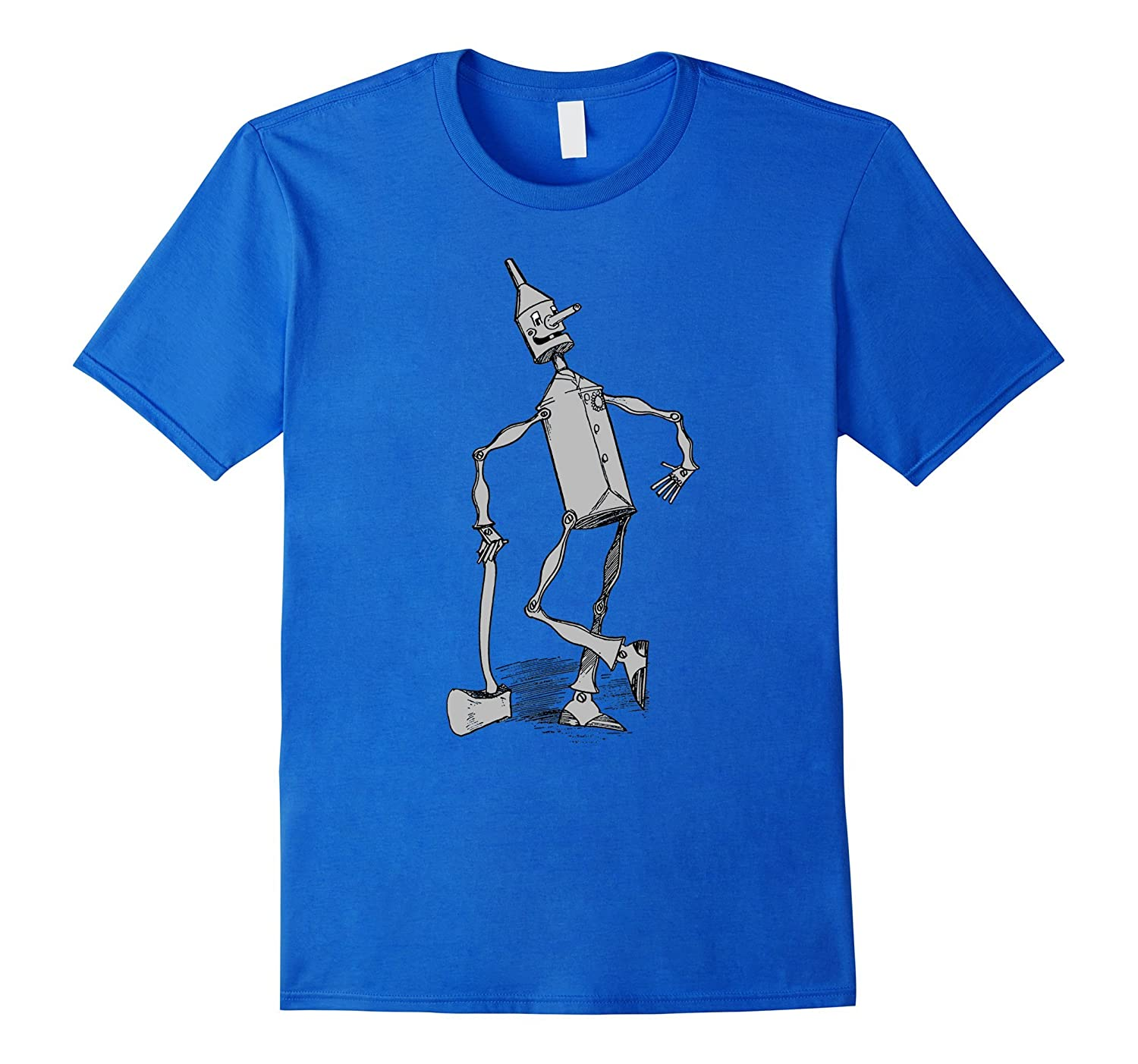 Tin Man Shirt - The Wizard Of OZ TShirt - Tin Woodman Tee-FL