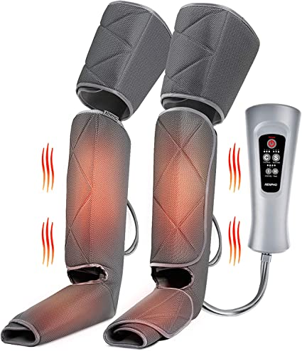 Amazon.com: Renpho Leg Massager with Heat, Compression Calf Thigh Foot  Massage, Adjustable Wraps Design for Most Size, with 3 Modes 3 Intensities,  Gift for Mom Dad to Relax Leg Muscle: Health &