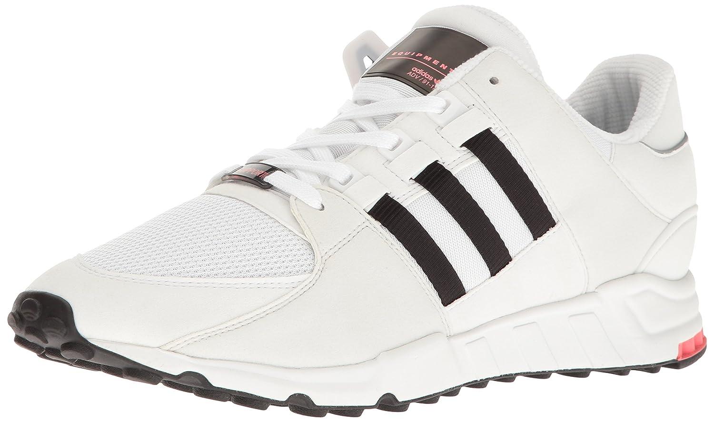 Vintage White St Black White Adidas Originals Men's EQT Support Rf Fashion Sneaker