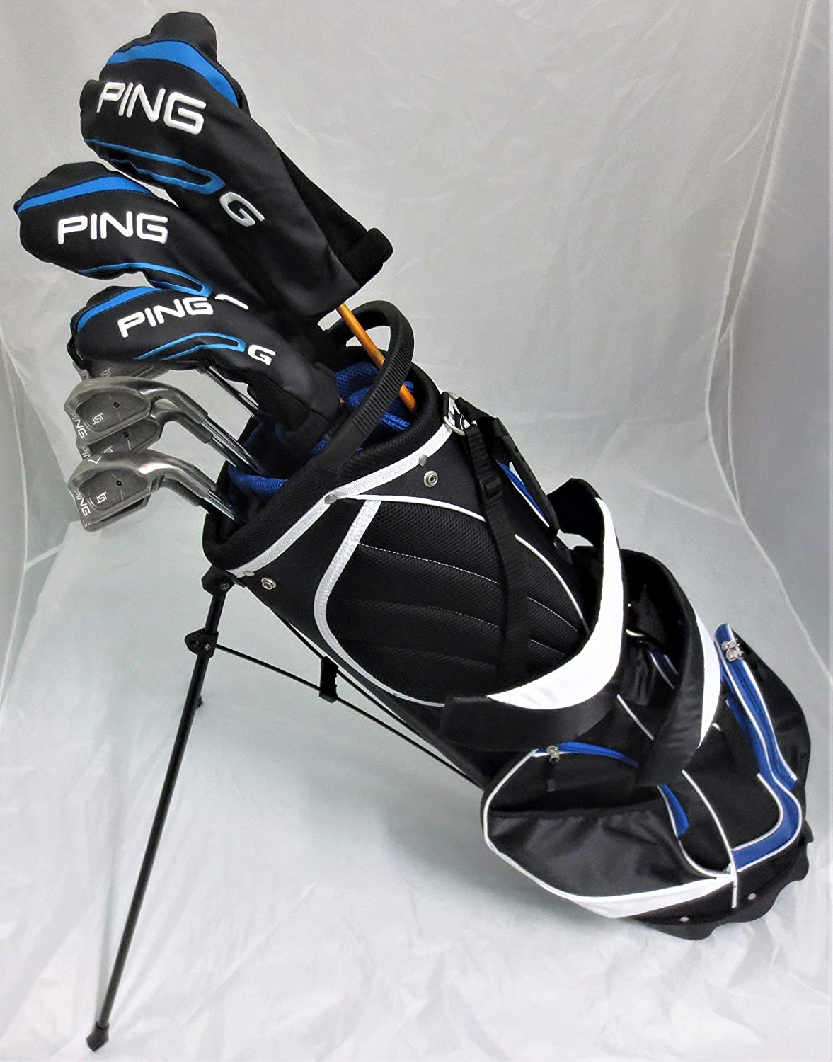 Amazoncom Mens Ping Complete Golf Set Driver Wood Hybrid Irons