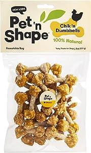 Pet 'N Shape Rice Dumbbells Natural Dog Treats
