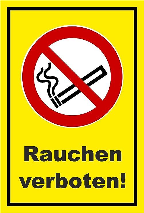 Aufkleber Rauchen Verboten Rauch Verbot Entspr Din Iso 7010