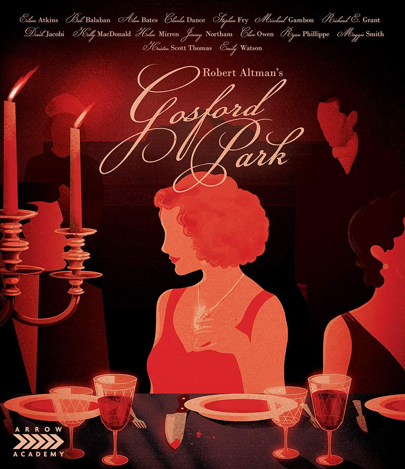 Gosford Park Blu Ray Maggie Smith Ryan Phillippe Michael Gambon Robert Altman Movies Tv
