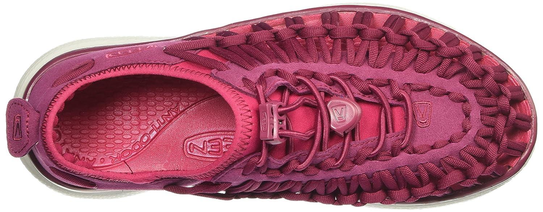 KEEN Women's 10.5 Uneek O2-w Sandal B01H8H41H0 10.5 Women's B(M) US Anemone/Bright Rose 7f1a4b