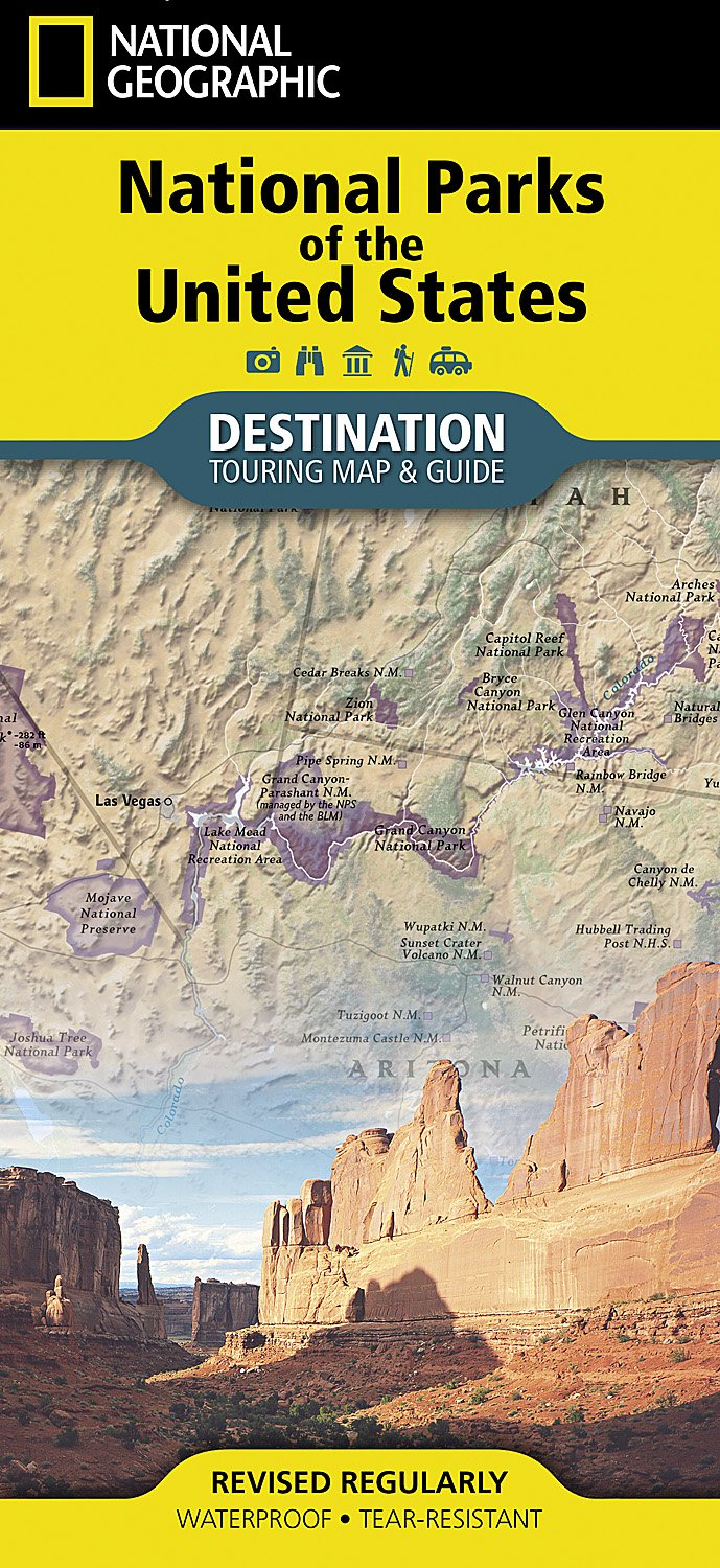 United States Map Of National Parks.National Parks Of The United States National Geographic Destination