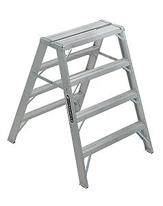 Louisville Ladder 4-Foot Aluminum Sawhorse, 300-Pound Capacity, L-2032-04