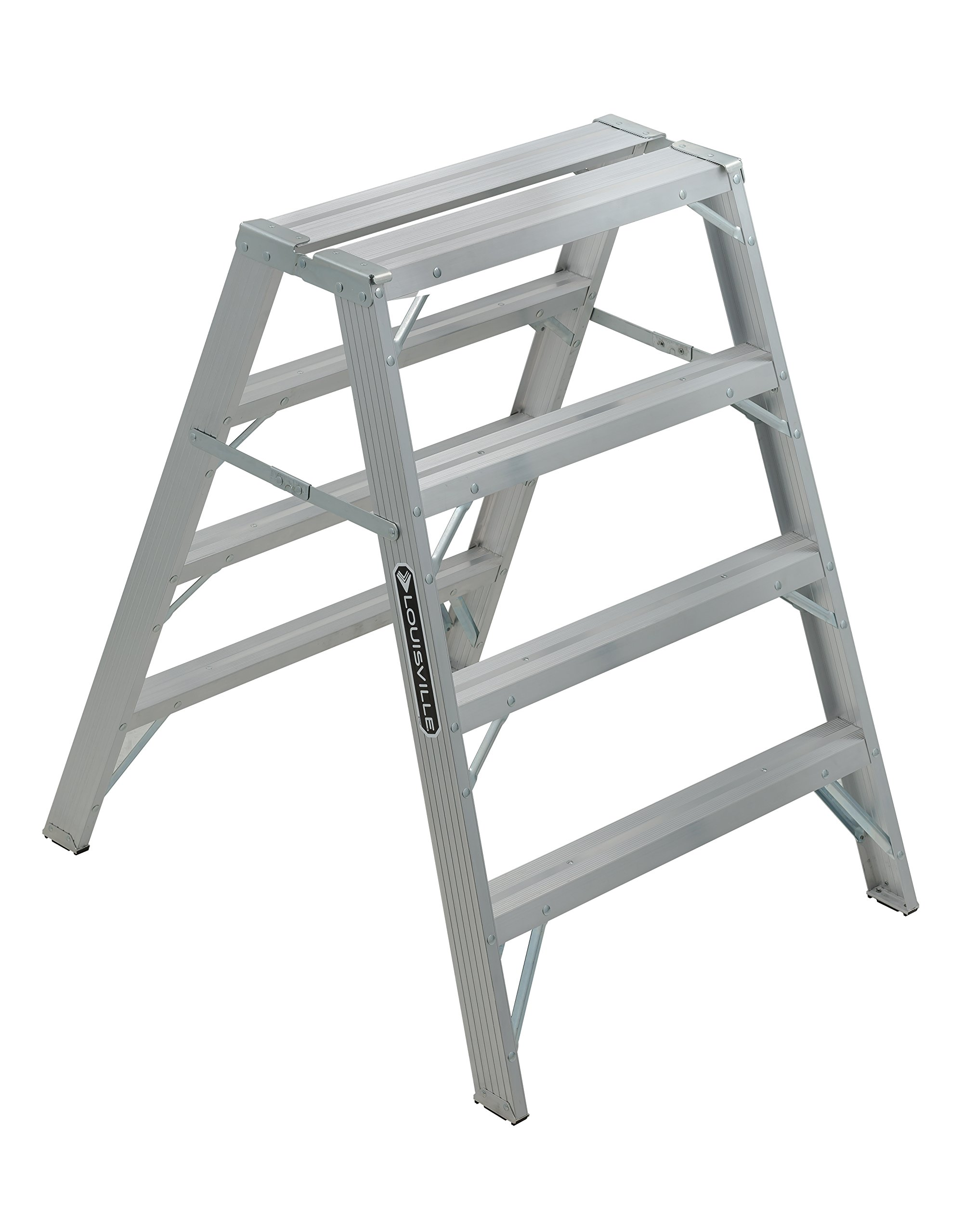 Louisville Ladder 4-Foot Aluminum Sawhorse, 300-Pound Capacity, L-2032-04