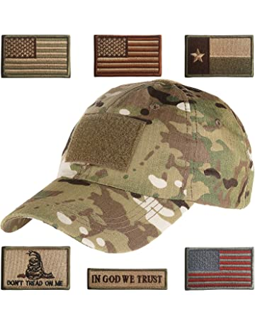 33430403b0b Lightbird Tactical Hat with 6 Pieces Tactical Military Patches