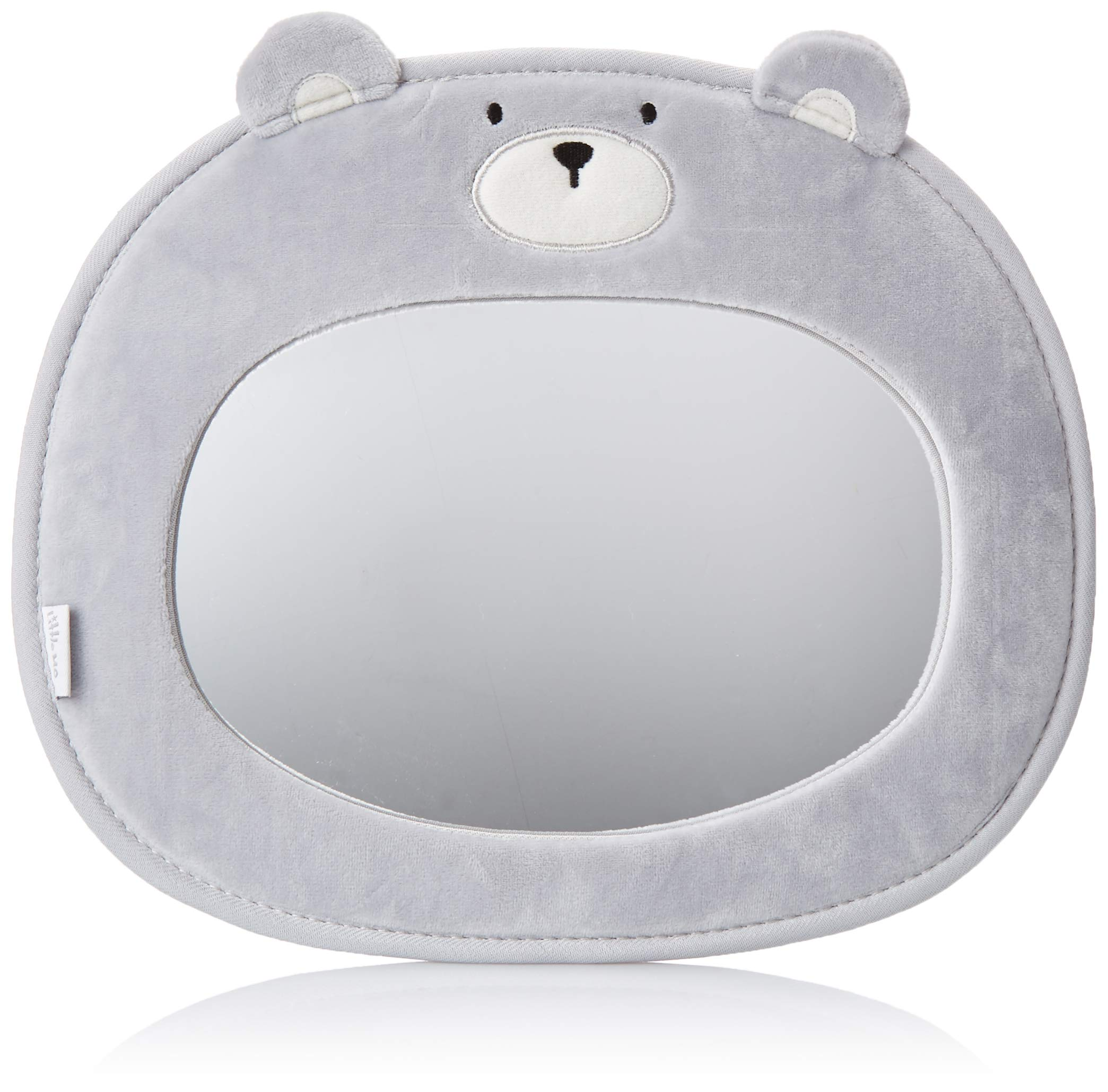 Little Me Baby Backseat Mirror for Car View Infant in Rear Facing Car Seat, Bear by Little Me