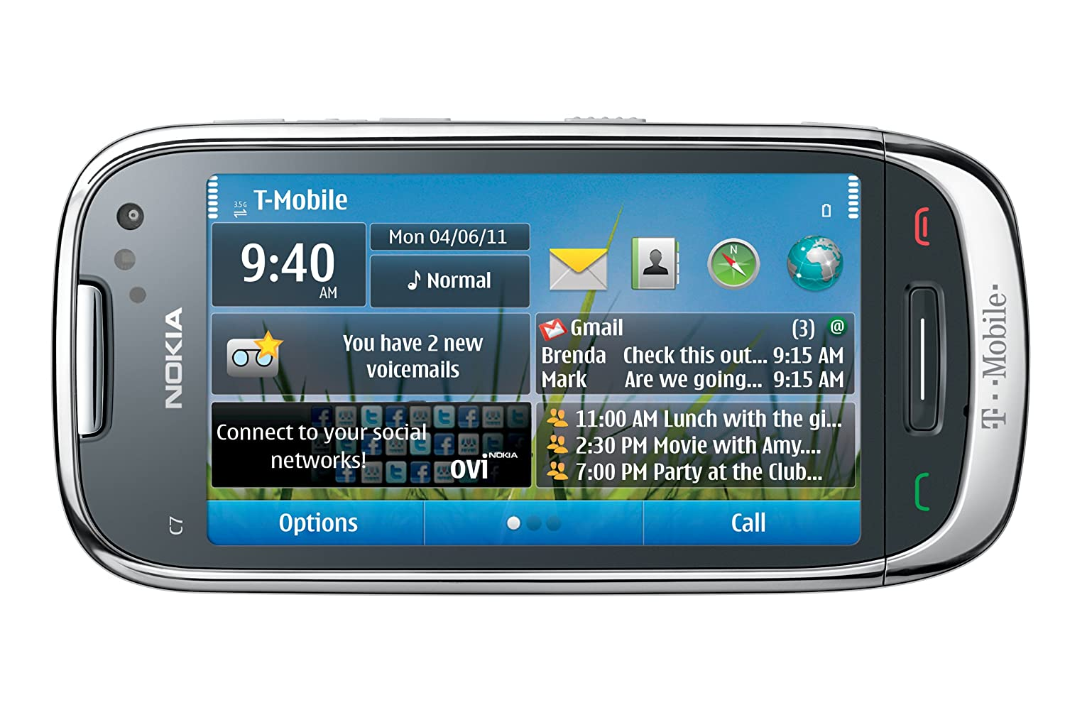 You are here home mobiles devices symbian anna update 25 7 - Amazon Com Nokia Astound Symbian Phone T Mobile Cell Phones Accessories
