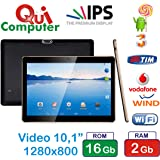 TABLET PC 3G INTEGRATO 10.1 POLLICI IPS 1280 x 800 RAM 2 GB ROM 16 GB ANDROID 5.1
