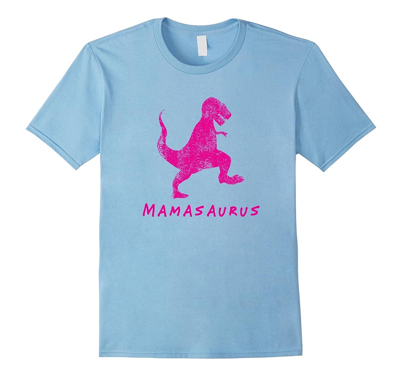 Mamasaurus Rex Dinosaur Shirt Pink Funny Mothers Day Gift-Vaci