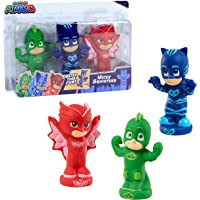PJ Masks 24611 Just Play Squirters Bath Toy (3 Pack),onesize,Multicolor