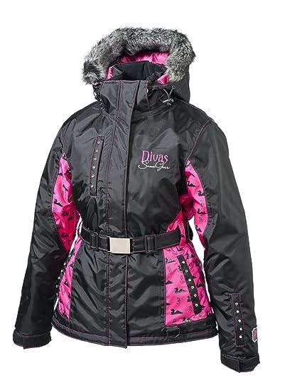 ec1bd830177 Image Unavailable. Image not available for. Color  Divas SnowGear Divine  Jacket ...