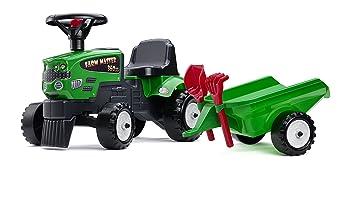 Falk - 1081C - Juegos al aire libre - Camiones Remolques agricolas Maestro 350S Accesorios: Amazon.es: Juguetes y juegos