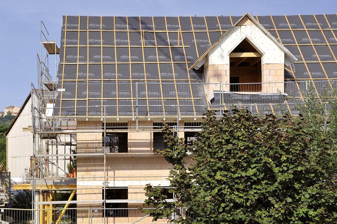 B/âche sous toiture hautement perm/éable /à la vapeur et contre les pluies battantes