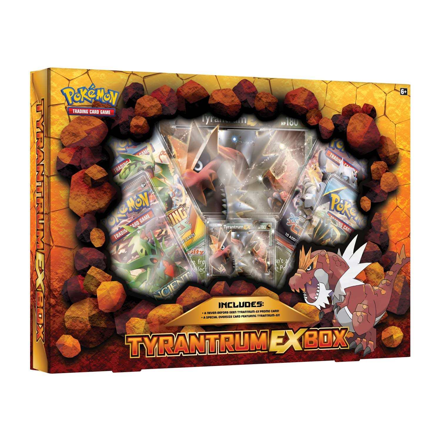 Pokèmon tyrantrum EX Box Juego de Cartas: Amazon.es ...