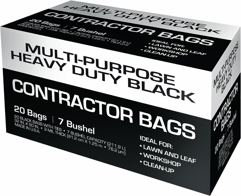 42-Gallon Petoskey Plastics 93001 Multi Purpose Heavy Duty Contractor Trash Bag