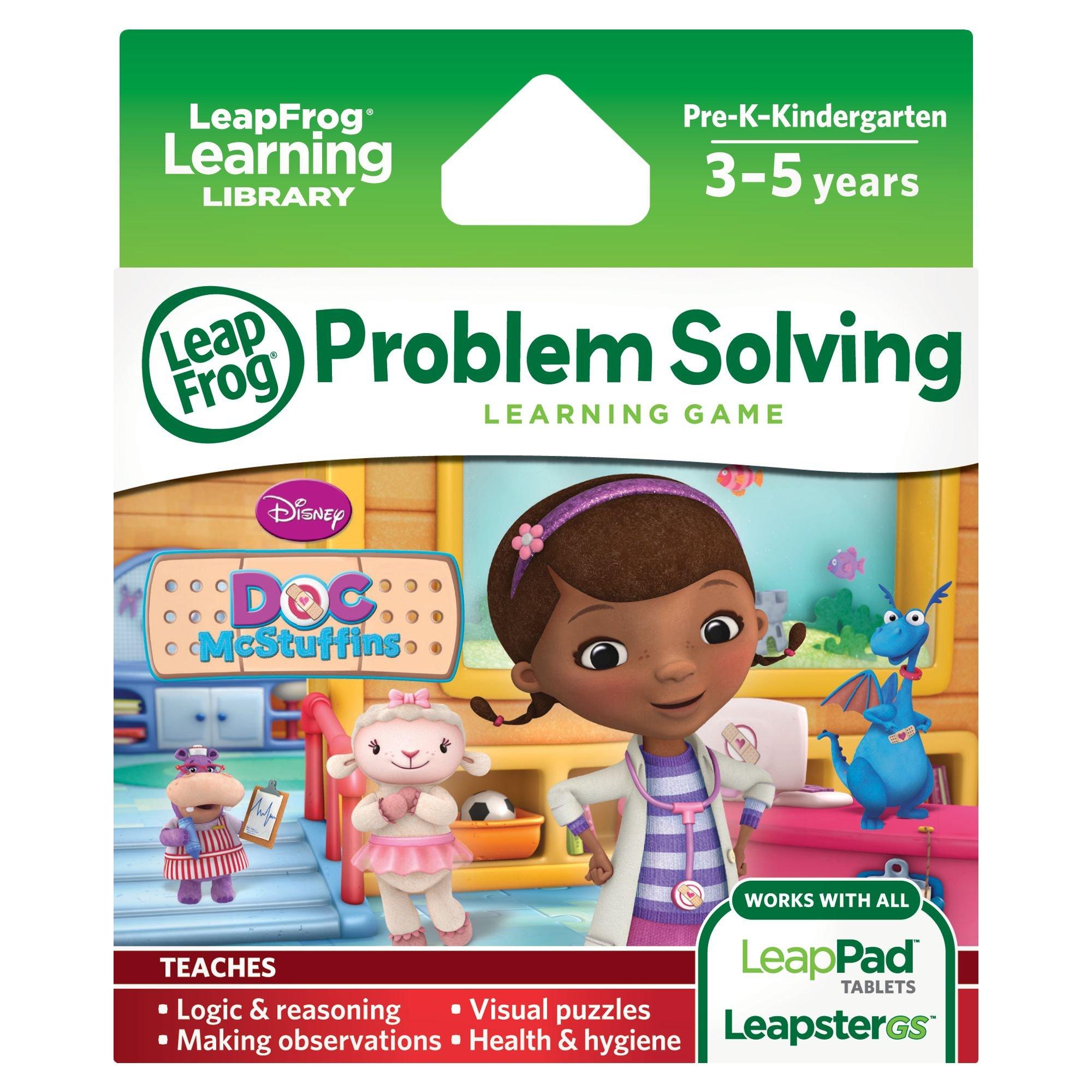 LeapFrog Disney Doc McStuffins Learning Game (for LeapFrog Epic, LeapPad Platinum, LeapPad Ultra, LeapPad1, LeapPad2, LeapPad3, Leapster Explorer, LeapsterGS Explorer) by LeapFrog