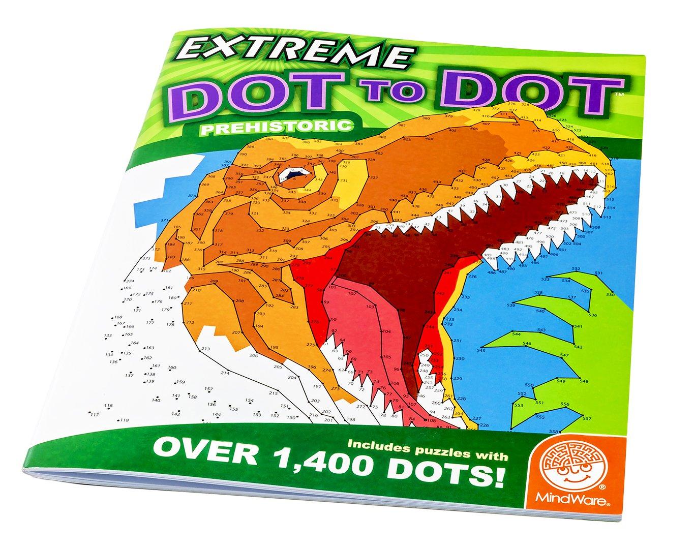 amazon com extreme dot to dot prehistoric toys u0026 games