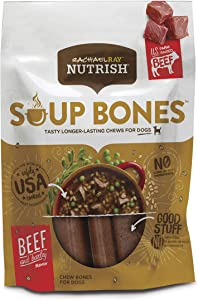 Rachael Ray Nutrish Soup Bones Dog Treats, Longer Lasting