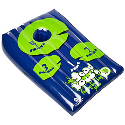 Driveway Games Toad Toss'n - Floating Bean Bag Toss Game: Sports & Outdoors