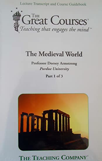 amazon com the medieval world the great courses parts 1 2 3 rh amazon com great courses guidebooks audible Travel Guidebook