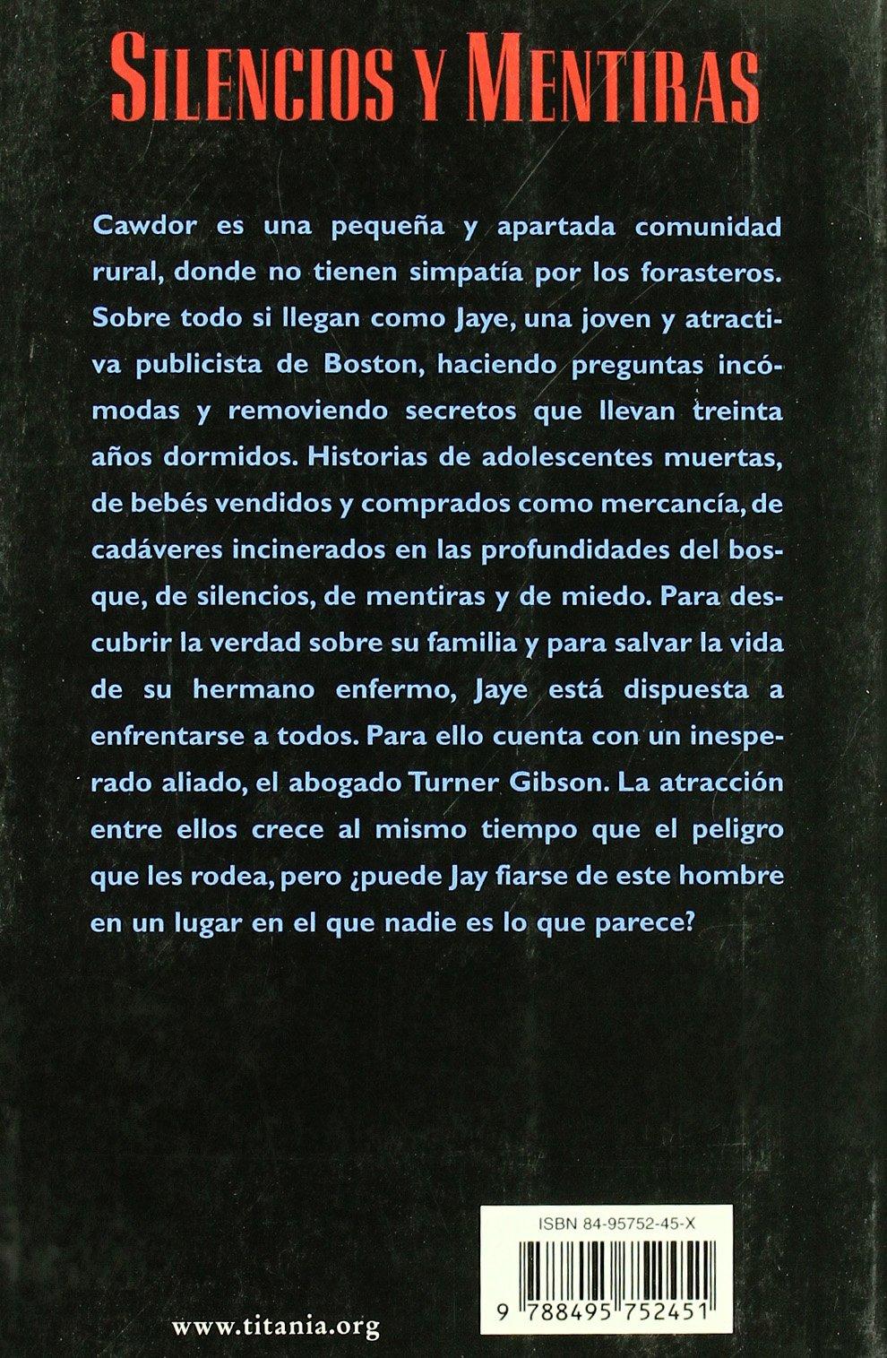 Silencios y Mentiras (Spanish Edition): Bethany Campbell, Isabel De Miquel: 9788495752451: Amazon.com: Books