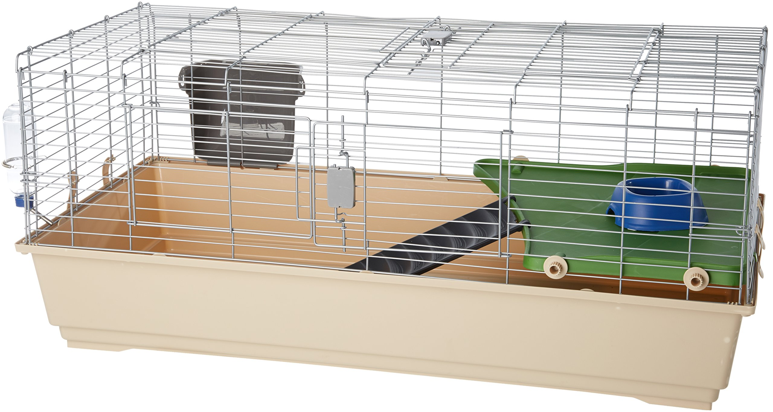 AmazonBasics Small Animal Cage Habitat With Accessories 3