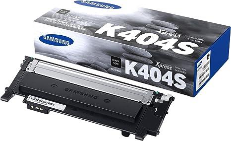 Amazon.com: Samsung CLT-K404S - Cartucho de tóner para SL ...