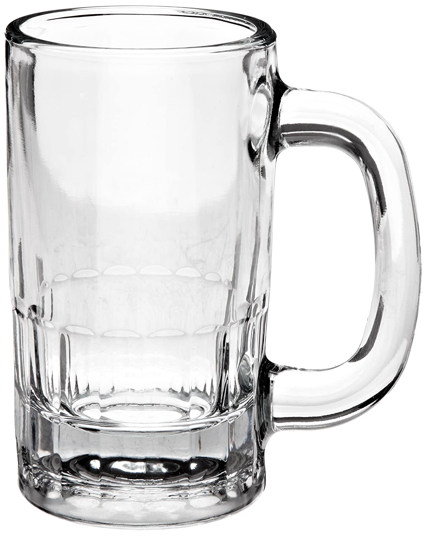 12-Ounce Beer Mug Anchor Hocking 18U 4-3//4 Inch Diameter x 5-5//8 Inch Height Case of 24
