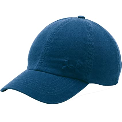 Amazon.com  Under Armour Women s Armour Washed Cap  Sports   Outdoors 91ecd6dbcb2