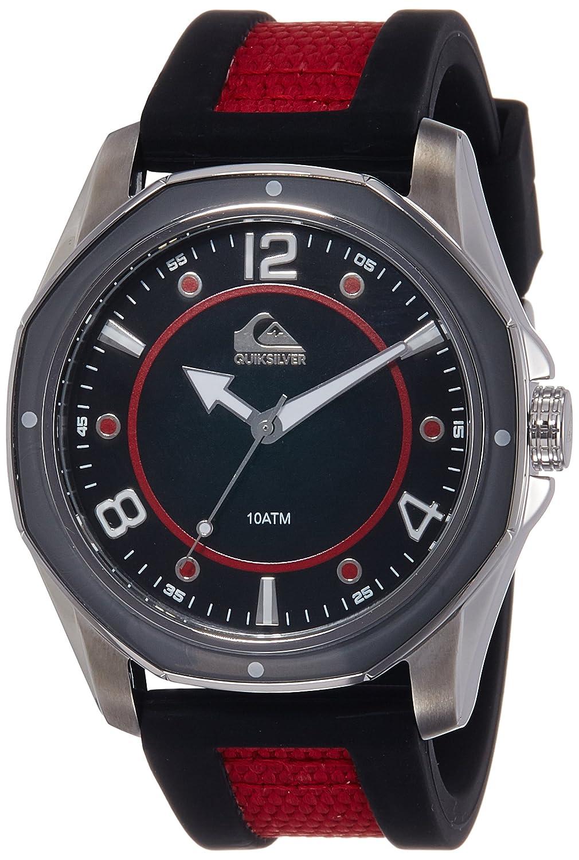 Quiksilver Herren-Armbanduhr The Mariner Analog Silikon Rot QS-1014BKRD