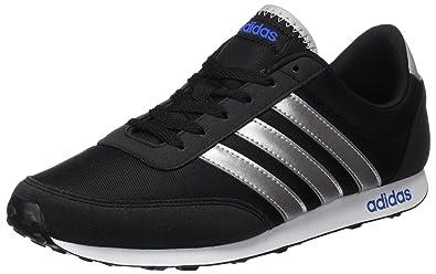 adidas V Racer, Chaussures de Tennis Homme, Noir Negbas Plamat Azul