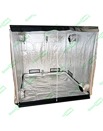 Portable Grow Tent Thick Foil Silver Mylar Hydroponic Dark Room 50x50x100cm