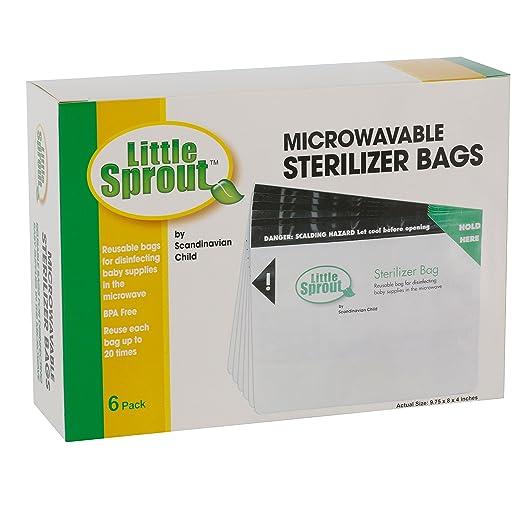 Amazon.com: Microondas Esterilizador Bolsas para botellas y ...
