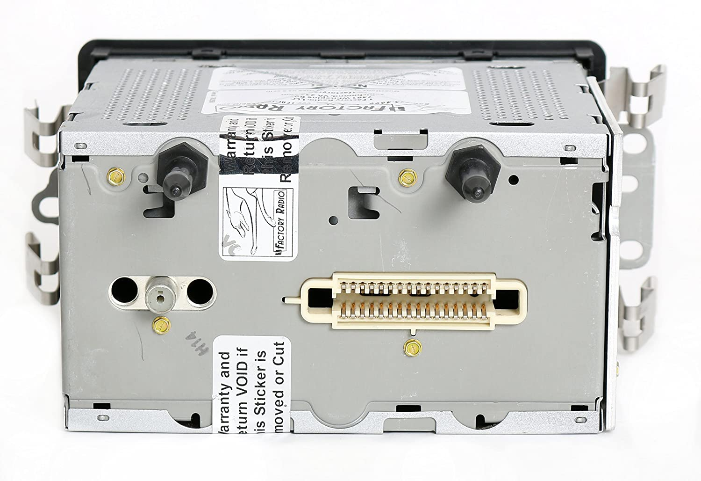 Pontiac Bonneville 03 05 Am Fm Cd Radio W Bluetooth 2003 Parts Diagram Music 25753859 Black Buttons Automotive